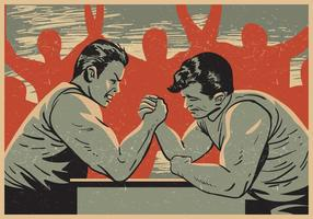 Arm Wrestling Wettbewerb