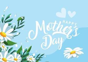 glad mors dagskort vektor