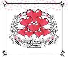 Alla hjärtans gratulationskort
