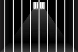 Hintergrund für Gefängnis und Gefängniszellen vektor