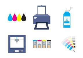 Druckset und Drucker