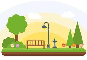 Freier Park-Vektor vektor