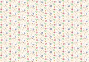 Blumen-Pastellmuster vektor