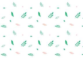 Blad vektor mönster