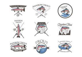 Free Rainbow Forelle Vektor