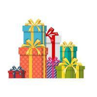 Geschenkbox-Set vektor