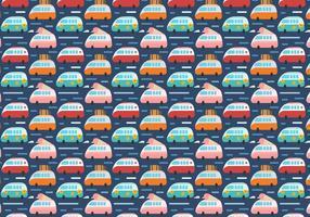 Gratis Hippie Bus Vector