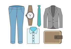 Freier Outfit Vektor