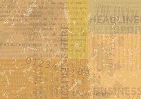 Vintage Old Newspaper Bakgrund