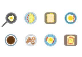 Gratis frukost vektor
