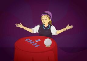 Kostenlose Tarot-Illustration vektor