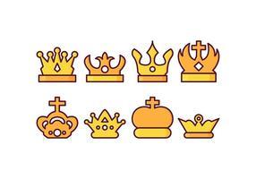 Gratis British Crown Vector Pack