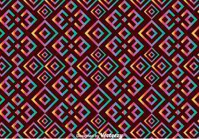 Etnisk Huichol sömlös mönster vektor