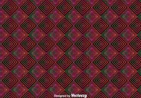 Huichol Orament sömlöst mönster vektor
