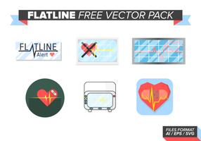 Flatline fri vektor pack