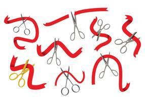 Free Ribbon Cutting Vektor