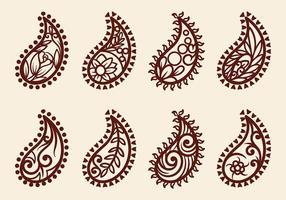 Hand gezeichneter Vektor Kaschmir