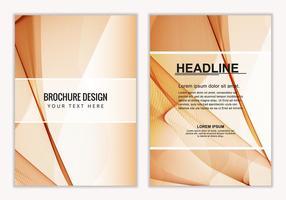 Free Vector Business Broschüre