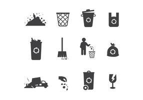 Kostenlose Deponie Vektor Icons