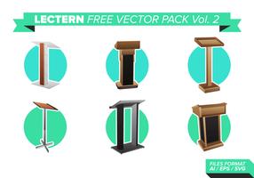 Lectern free vector pack vol. 2