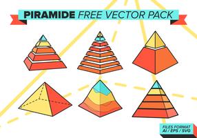 Piramide freie vektorpackung