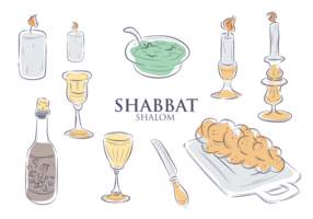 Shabbatikoner Vector