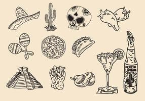 Mexikanische Huichol-Ikone vektor