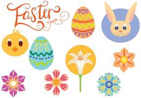 Free Cute Ostern Vektoren