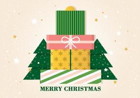 Free Vector Christmas Geschenkboxen