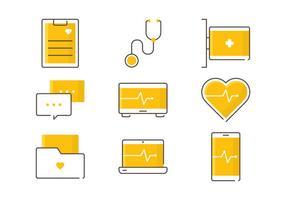 Gesundheitsservice Icons
