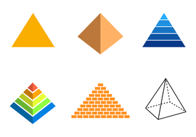 Gratis Piramid Vector