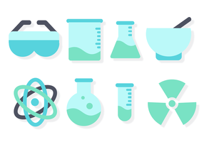Freie Chemie Set Vektor