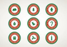 Kostenlose Weihnachts-Ikonen vektor