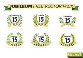 Jubiläum Free Vector Pack