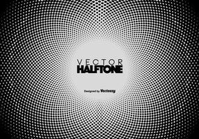 Vector Halftone Hintergrund