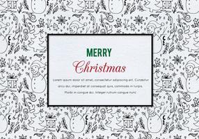 Kostenlose Vektor Weihnachten Illustration