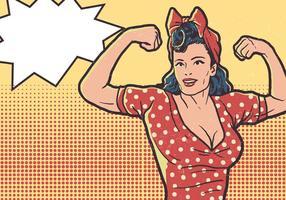 Día de la Mujer vektor