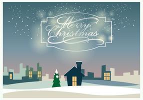 Christmass landskap vektor
