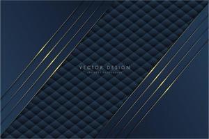 metalliska marinvinklade lager över klädselstruktur vektor
