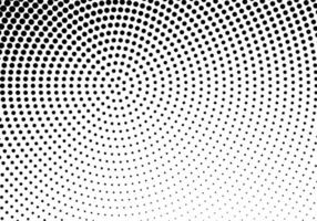 abstrakte kreisförmige gepunktete Textur vektor