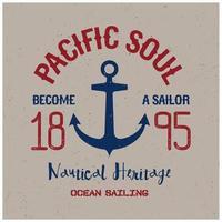 Pacific Soul T-Shirt Design