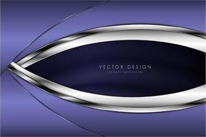 Luxus metallic lila und silbernen Hintergrund
