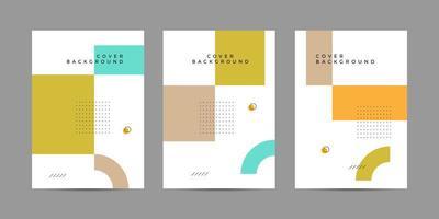 Memphis Cover Design-Vorlage