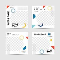 bearbeitbare moderne fröhliche Postvorlagen
