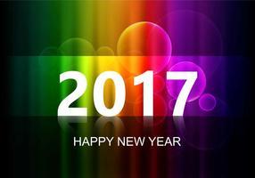 Gratis Vector Nyår 2017 Bakgrund