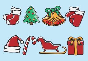 Weihnachten Icons vektor