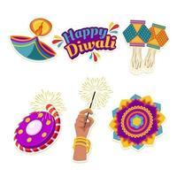 väsentliga diwali festivalelement