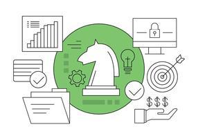 Kostenlose Marketing-Icons vektor