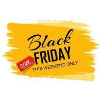 Hand gezeichnete schwarze Freitag Verkauf Hintergrund