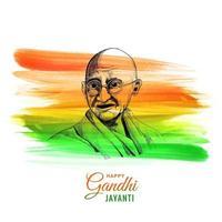 glücklicher Gandhi Jayanti Nationalfeiertag Hintergrund
